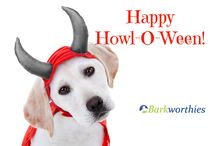 Happy Howl-O-Ween from Barkworthies!