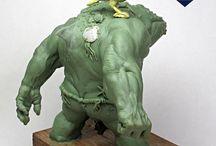 Figures / Figures, statues, Exhibits