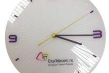 Часы с логотипом / вот такие часики мы производим
