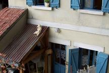 Maisons miniatures
