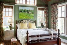 Where the magic is made:  master bedroom