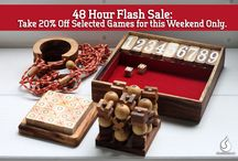 20% Off - Select Wooden games / 20% off Promotion - Wooded Puzzles