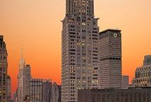 Skyscrapers + New York / #skyscrapers #newyork #nyc