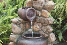 Fontána s vodou