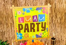 Beach - Luau Party Ideas