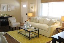 Living room ideas / by Amy Higgins-Margalli