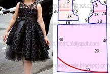 Children's dresses/vestidos de criança