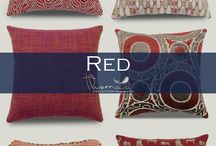 Red Accent Home Decor