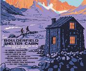Vintage Rocky Mountain National Park Posters