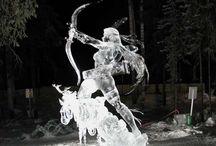 Ice & Snow Art / by Rosie Merrill