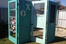 Repurposed doors  / Repurposed doors for inside or outdoors. / by Laura Nacario