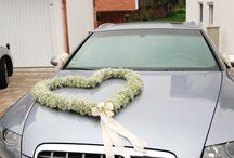 Autó dekoráció