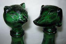 я ПОИСК статуэтка кошка (зелёное стекло) / Поиск игрушек, детских книг и настольных игр СССР - http://doska-obyavleniy-detstva.blogspot.ru/ (статуэтка кот, кошка зелёное стекло фигурка)