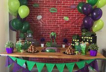 Hulk birthday party decorations