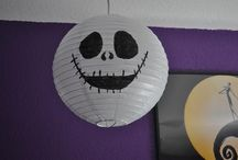 christmas/halloween party ideas / ideas for a party held after halloween but before christmas. inspired by the nightmare before christmas.