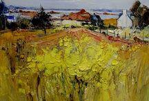 Yellow field / Landscape