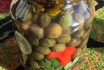 Preserve olives