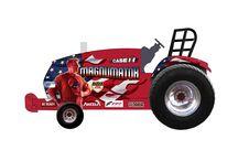 1/16th Case IH/Farmall Tractors