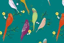 Surface Pattern / A collection of inspiring patterns by surface pattern designers who specialise in Children's and novelty designs for fabric, apparel, bedding, greeting cards and children's illustration.