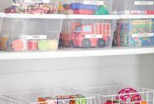Toys organized idea