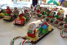 christmas candy sleds / by Elizabeth McClure Rotondo