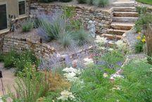 ST terraced back garden