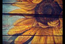 steigerhout schilderijen