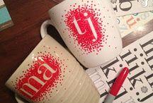 Crafty ideas / Personalised mugs!