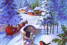 Karácsonyi dalok, képek