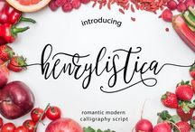 Create ~ Fonts: Crafts/Blog