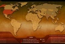 Data Visualization (Maps, DataViz, DataVis, and Infographics) / by Rich Murnane