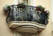 Balcony Iron fence