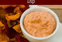 Homemade salad dressings and dips