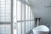 Classic Shutters / Transform ordinary windows into inspiring highlights of the home. Combining elegance with the durability of vinyl they are perfect for windows everywhere: formal living rooms to rough- and-tumble playrooms – even busy kitchens and steamy bathrooms.