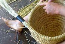 sláma-pletení