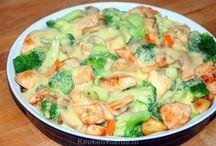 Broccoli met kip