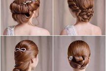 hair / wedding styles