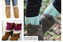 Crochet & Knitted Boot Cuffs