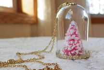 Holiday Christmas Gift Ideas / A collection of all things shabby, vintage French and chic gift ideas for the holidays! Including upcycled vintage jewelry recreations, French style, cottage romantic, shabby chic home decor,  porcelain handpainted ornaments, handpainted furniture, gift tags, snowmen and more!