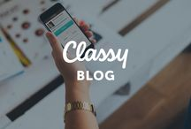 Classy Blog / Best practices, tips, and fundraising ideas for nonprofits. We post new entries each weekday at www.classy.org/blog!