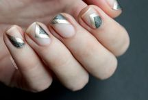 Negative Space Manicures / We have our eye on this Spring 2015 nail trend!