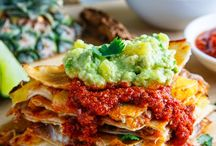 """Mexican """"Inspired"""" Dishes / Inspired as it's hard to call many dishes Authentic Mexican unless you have actually experienced the local street foods of Mexico's regions.."""