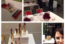 #ClarinsBeauty VIP diner with Dave Lackie