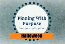 "Halloween (PWP) / Make your Halloween a ""SCREAM"" with these fun ideas from Pinning with Purpose"