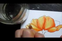 Craft Tutorials - Coloured Pencils