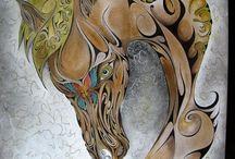 Ewangel78 / Rysunek abstrakcyjny jako zewnętrzny objaw treści wewnątrzmózgowych