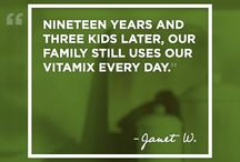Gratitude Stories  / From telling a story to being the inspiration for a new one, storytelling is deeply rooted in our history and important to our culture. At Vitamix, we are committed to the satisfaction of our customers, whose stories inspire us every day. If you have a Vitamix story you'd like to share, we'd love to hear from you. Share your stories by emailing us at: socialmedia@vitamix.com / by Vitamix
