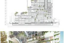 hi-rise building complex
