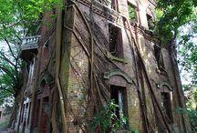 Casas encantadas/abandonadas