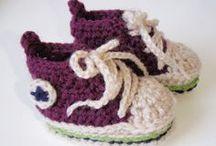 編み物 ベビー靴